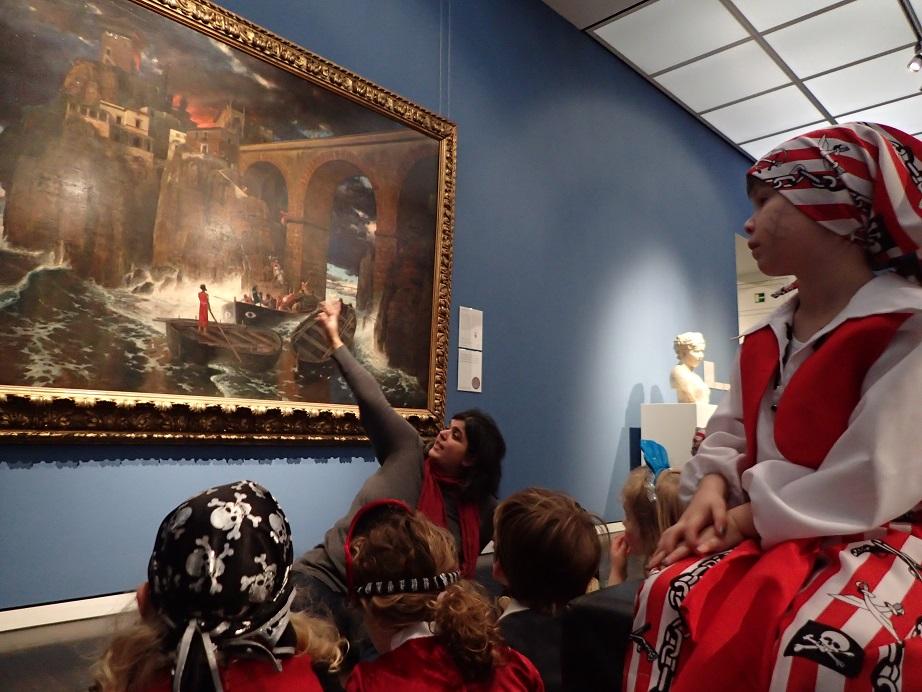 Seeräuberüberfall im Museum
