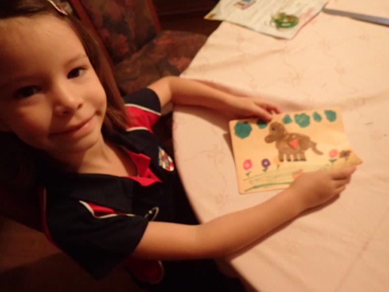 Meine Tochter, die Buchautorin
