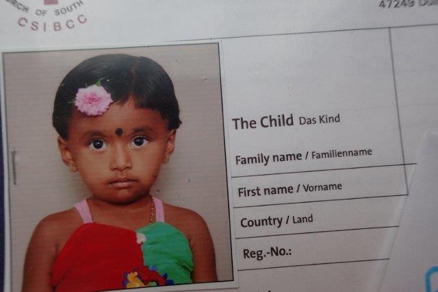 Eine indische Schwester