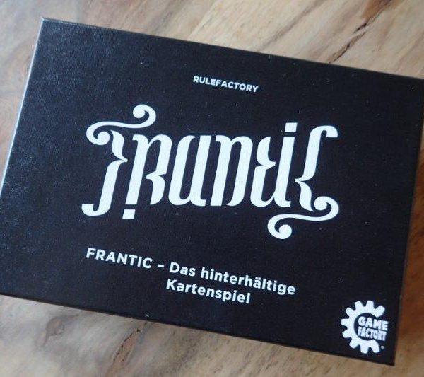 Frantic: ein hinterhältig gutes Kartenspiel