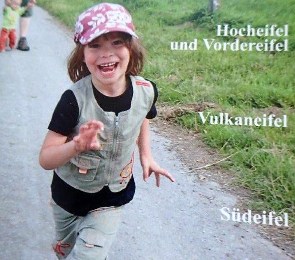 """Hurra, noch vor Ostern im Kasten: Mein Wanderführer """"Eifel Süd"""""""