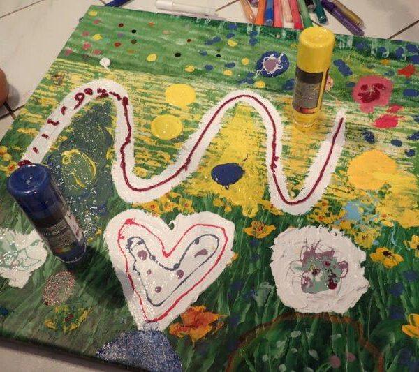 Kleine Künstlerinnen - große Kunst