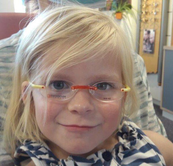 Endlich eine Brille!