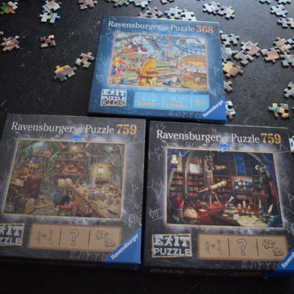 Exit (Kids) Puzzles von Ravensburger