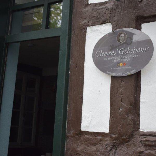 Ausflugstipp: Clemens' Geheimnis in Monschau
